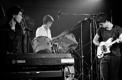 Talking Heads performing in Toronto in 1978
