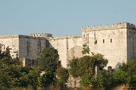 The Porta Aurea (Golden Gate) of the walls of Constantinople was used by Byzantine emperors.[45]