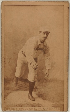 Tony Mullane made five Opening Day starts for the Reds during the 1800s.