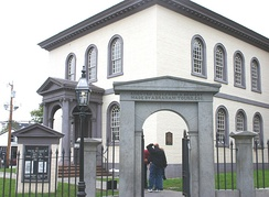 Touro Synagogue, (built 1759) in Newport, Rhode Island has the oldest still existing synagogue building in the United States.