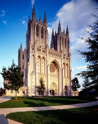 The National Cathedral (Episcopalian) in Washington, D.C.