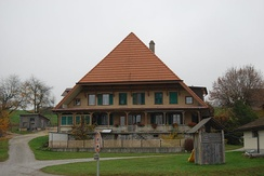 Large farm house in Diesswil
