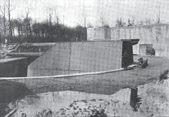 "38-cm ""Lange Max"" of Koekelare (Leugenboom), biggest gun in the world in 1917"