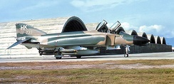 480th TFS McDonnell F-4D-31-MC Phantom 66-7733 at Phu Cat AB, South Vietnam 1969