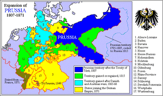 Expansion of Prussia, 1807–1871