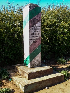 Monument for the Malagasy Uprising in the village of Antoetra
