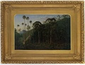 Cabbage Trees near the Shoalhaven River, by Eugene von Guerard(1860)[63]