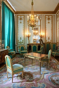 The gilded cabinet of Marie-Antoinette