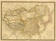 1836 map of China published by C. Picque.