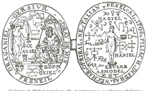 The talisman Nostradamus allegedly made for Catherine de' Medici