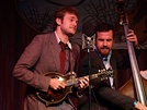Chris Thile on mandolin with the Punch Brothers