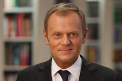 Donald Tusk, ex-Prime Minister of Poland, current President of the European Council. His mother was a native Kashubian- German speaker.[30]