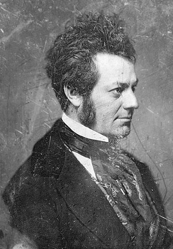 Edwin Forrest, a popular early American actor
