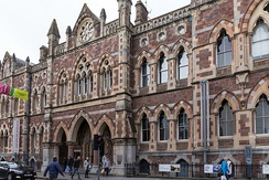 The Royal Albert Memorial Museum building housed the Exeter Schools of Art and Science