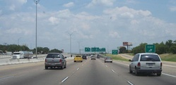 I-20 in southern Fort Worth