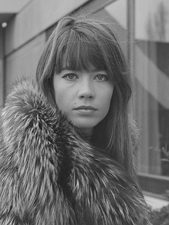 Françoise Hardy, photographed in 1969