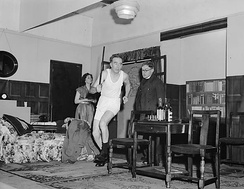 Gobowen Amateur Dramatic Society's presentation of See How They Run, 1954