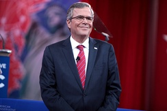 Jeb Bush speaking at the 2015 Conservative Political Action Conference in March 2015.