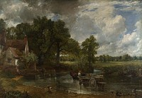 John Constable, 1821, The Hay Wain. Early Romanticism