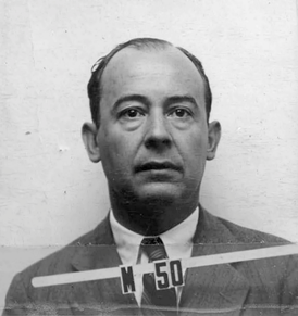Von Neumann's wartime Los Alamos ID badge photo