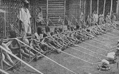 Child labour in the former German colony of Kamerun, 1919.