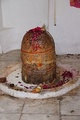 A lingam at the Katas Raj Temples in north Pakistan