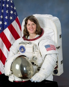 Kathryn C. Thornton, mechanical engineering and aerospace engineering professor, held the record for most NASA spacewalks by a woman until 2006.