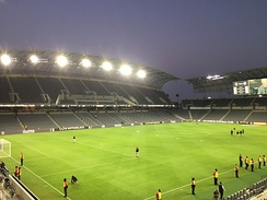 An image of the Banc of California Stadium