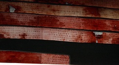 Samples of Etruscan script, from the Liber linteus