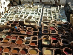 Tannery at Fes