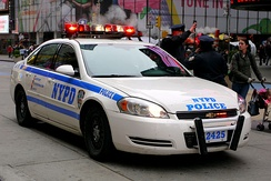 The New York City Police Department (NYPD) represents the largest police force in the United States.