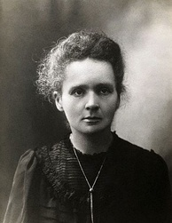 Marie Curie, discoverer of radioactive elements