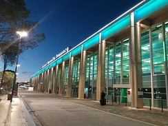 Marseille Provence Airport, the fifth busiest in France.