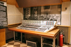 Bill Porter's audio console at RCA Studio B in Nashville. Studio B was the birth place of the Nashville sound.