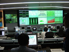 The Seoul Cyworld control room