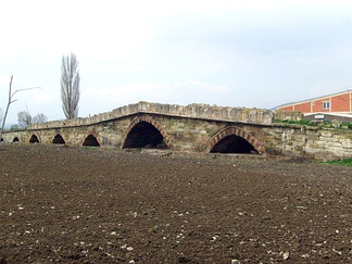 Vojinović bridge, one of the remaining structures from Serbian period