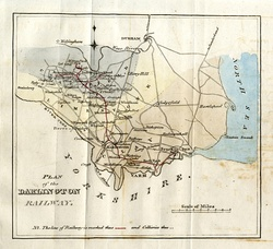 Tracts vol 57 p252 1821 Plan of intended Stockton and Darlington Railway.jpg