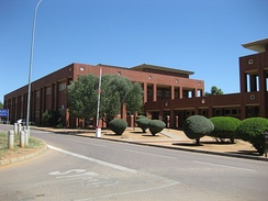 The University of Botswana's Earth Science building in Gaborone, Botswana