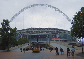 The new Wembley Stadium was completed in time for the 2006–07 season's FA Cup Final.