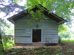 Smokehouse at Wheatlands near Sevierville, Tennessee