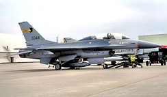 134th FIS F-16B Air Defense Block 15 Fighting Falcon 82-1044