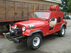 The CJ-6 was derived from the 1953 military M170, typically an ambulance.