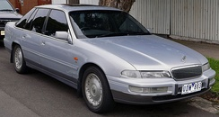 The VS Statesman/Caprice of 1995, represented a mild facelift of the VR, which in turn was an update of the 1990 VQ—Holden's long-wheelbase version of the VN Commodore series.