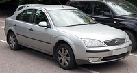 2005 Ford Mondeo Silver 1.8 Front.jpg
