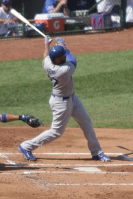 On September 19, 2014, Kemp homered on this swing in support of Clayton Kershaw's 20th victory.