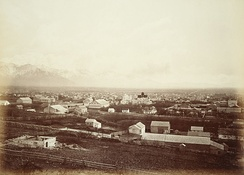 Salt Lake City c. 1880 by Carleton E. Watkins