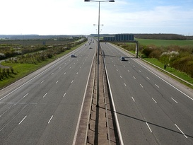 A1(M) southbound at Sawtry.