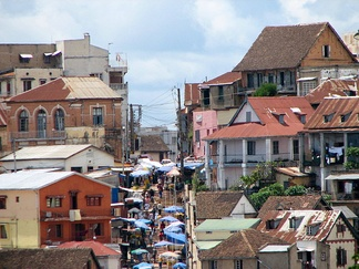Antananarivo is the political and economic capital of Madagascar.