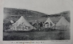 A Bordel militaire de campagne in Morocco in the 1920s