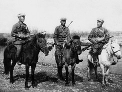 Mongolian cavalry in the Khalkhin Gol (1939)